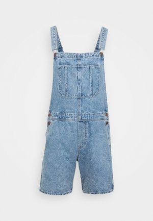 JJICHRIS JJDUNGAREE - Salopette - blue denim
