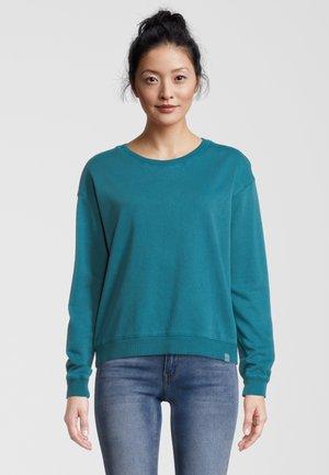SALCOMBE WAASHED CREW NECK - Sweater - steel