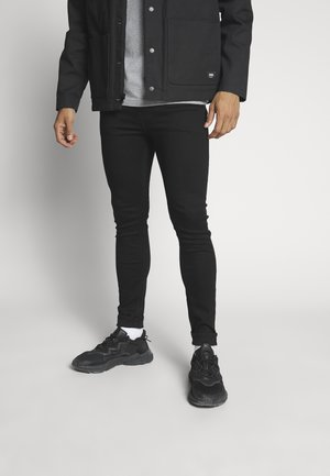 SUPER SKINNY - Jeans Skinny Fit - black