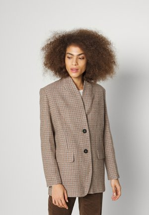 JOVANKA - Short coat - beige/rose