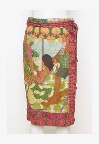 Farm Rio - BEACH DESIRE WRAP SKIRT - Pencil skirt - multi - 5