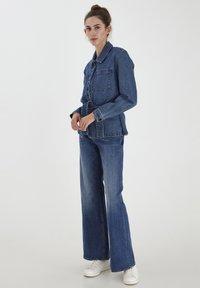 ICHI - IHNICOLE  - Denim jacket - medium blue - 1