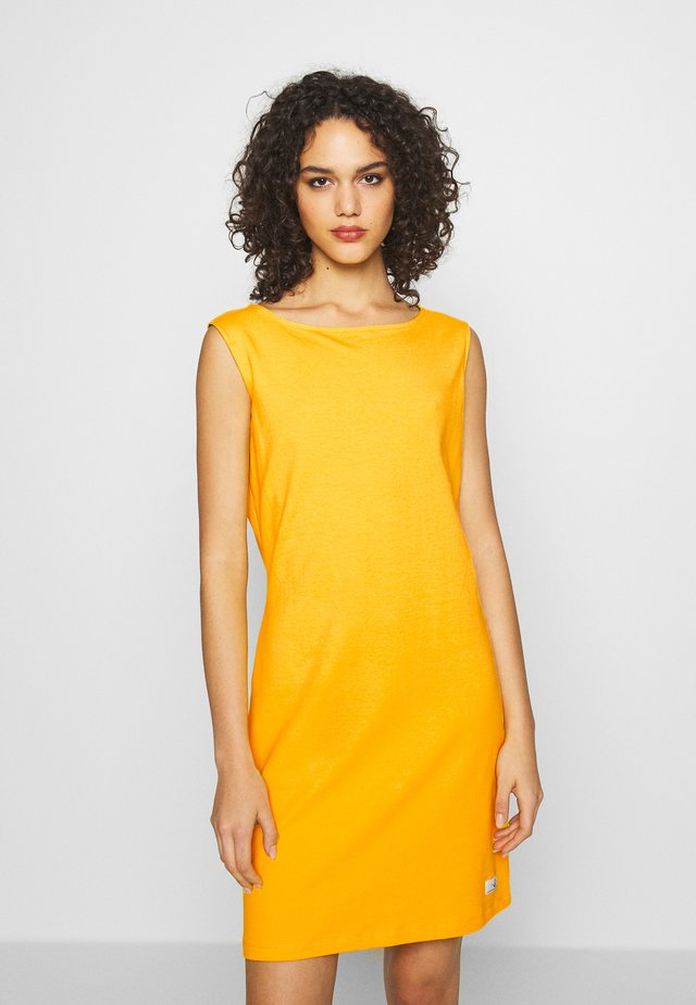 BRITTANY SOLID - Day dress - lemon