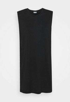 NMMAYDEN SHORT DRESS - Jersey dress - black