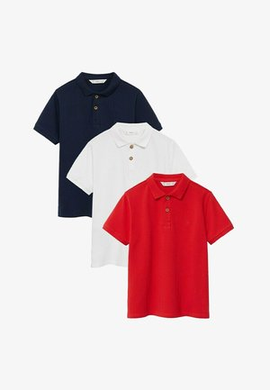 3 PACK - Polo shirt - gebroken wit