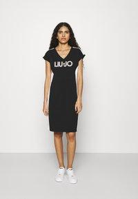 Liu Jo Jeans - ABITO - Sukienka z dżerseju - nero - 0