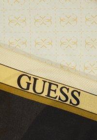 Guess - KELSEY KEFIAH - Foulard - black/yellow - 2