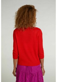 Oui - Cardigan - fiery red - 2