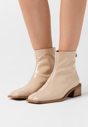Bottines - nude