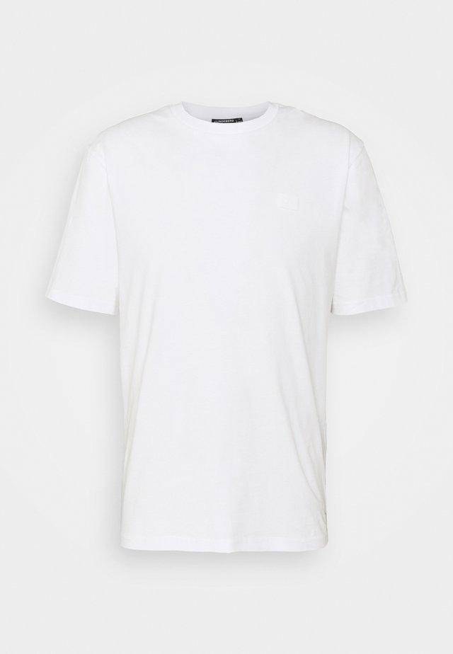 DALE LOGO PATCH - T-shirt basique - white