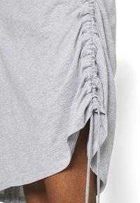 Trendyol - Jersey dress - grey - 4