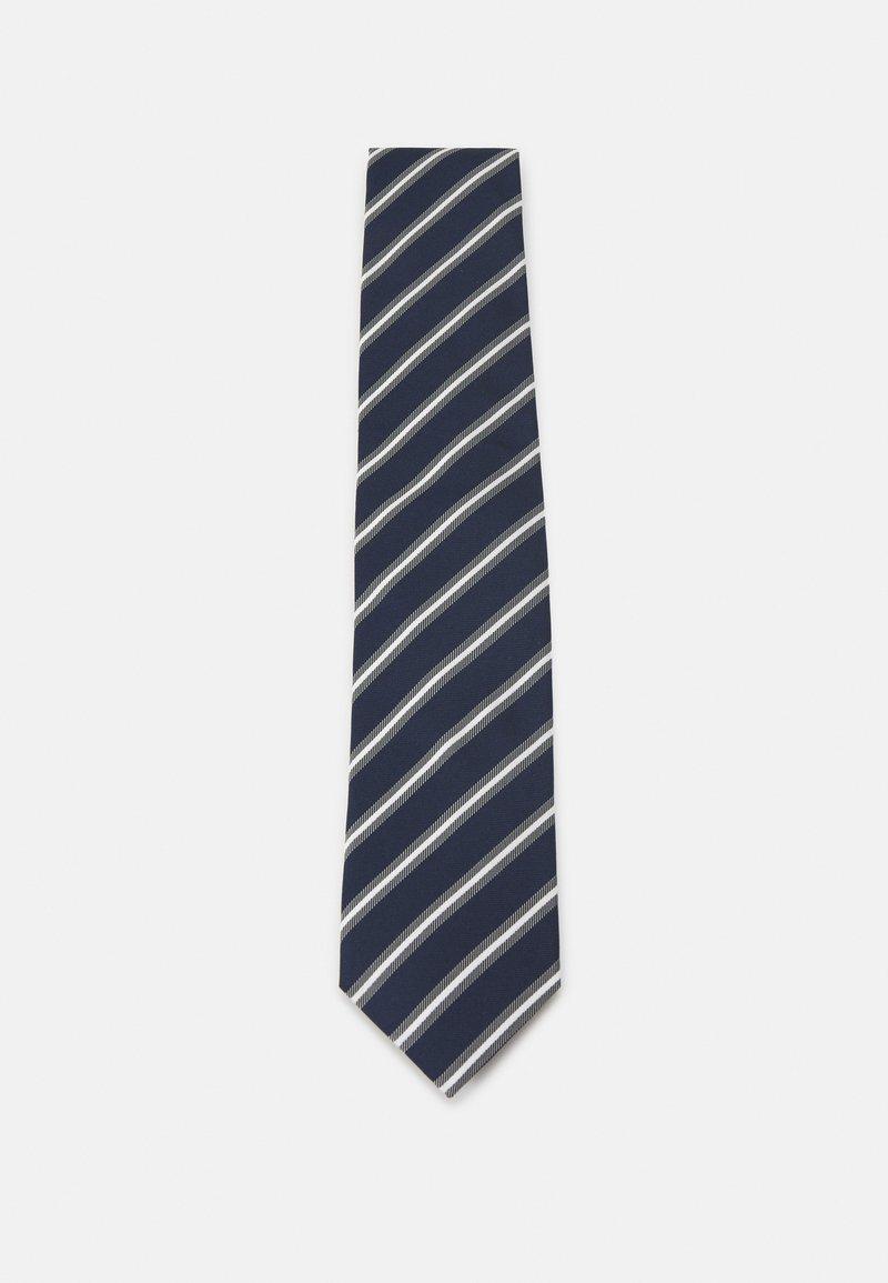 HUGO - TIE - Kravata - dark blue