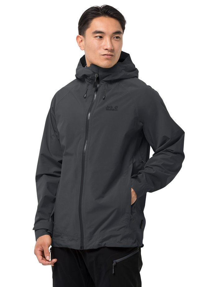 HIGHEST PEAK - Waterproof jacket - phantom