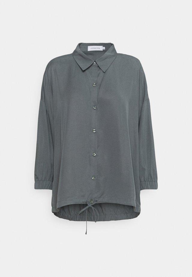 DITTA - Button-down blouse - sedona sage