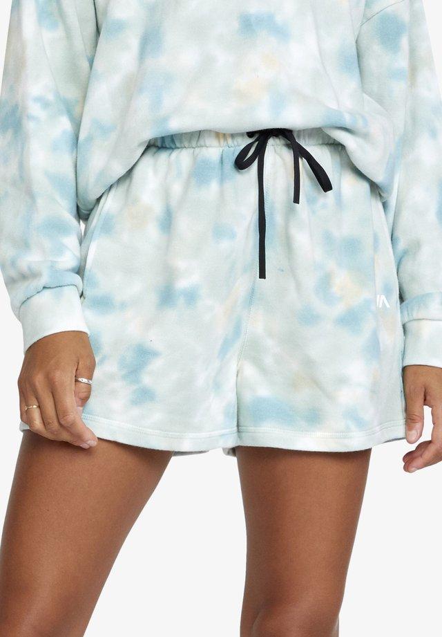 HUSTLE - Pantalon de survêtement - sea tie dye