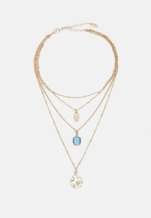 HAND PENDANT CHOKER - Necklace - gold-coloured
