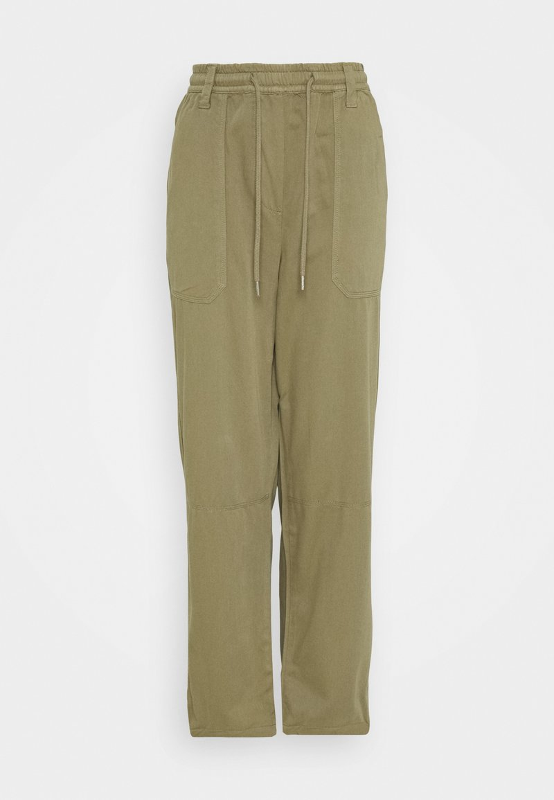 Topshop - CORY SLOUCH - Trousers - khaki