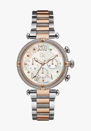 Horloge - silver and rose gold