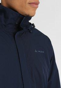Vaude - MENS ESCAPE LIGHT JACKET - Waterproof jacket - eclipse - 5