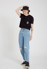 Volcom - CORAL MORPH S/S - Print T-shirt - black - 1