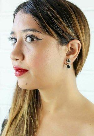 NIKOBAR  - Earrings - black