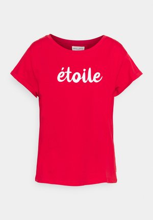 NELL - Print T-shirt - red