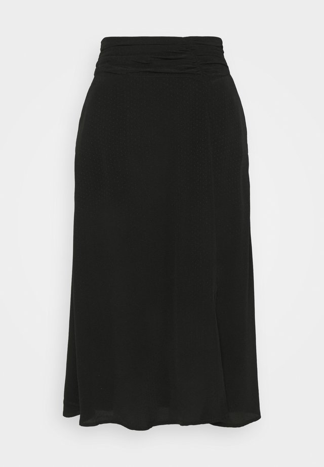 DITA SKIRT - A-lijn rok - black