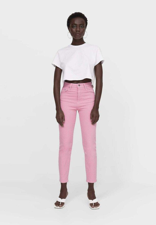 Jeans slim fit - pink