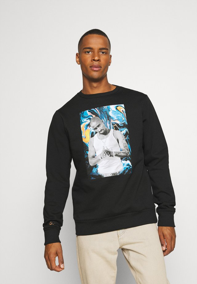PAC PAINT - Sweatshirt - black