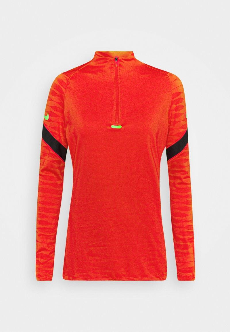 Nike Performance - DRY STRIK - Sports shirt - siren red/black/green strike