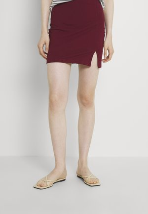 Minifalda - bordeaux