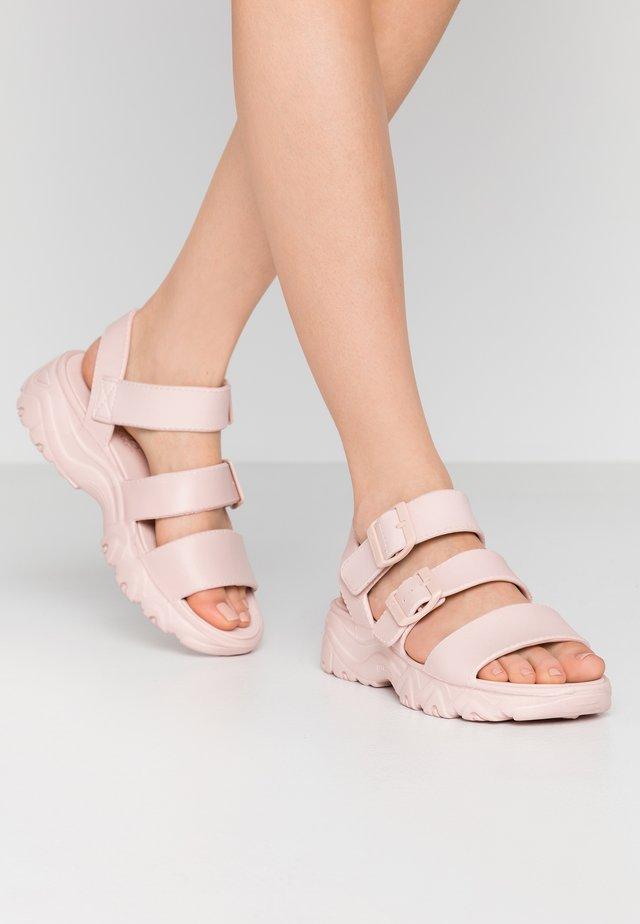 CALI - Korkeakorkoiset sandaalit - light pink