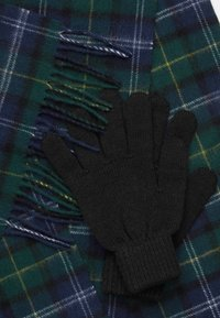 Barbour - TARTAN SCARF AND GLOVE GIFT SET UNISEX - Scarf - seaweed - 3