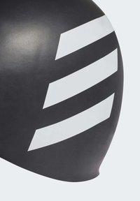 adidas Performance - SILICON 3 STRIPES HEADWEAR SWIM CAP - Swimming accessory - black - 2