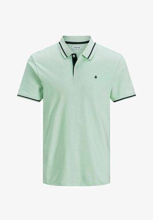 Polo shirt - bleached aqua