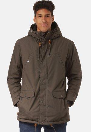 Outdoor jacket - black olive
