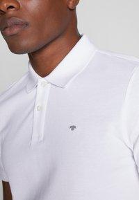 TOM TAILOR - BASIC - Polo shirt - white - 4