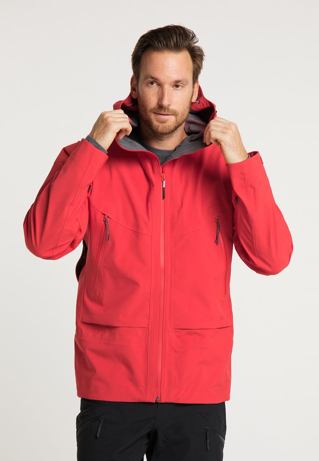 Soft shell jacket - ember red