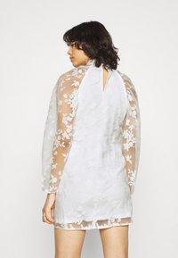 Gina Tricot - YLVA DRESS - Cocktail dress / Party dress - white - 2