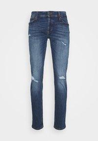 JJIGLENN JJORIGINAL AGI - Slim fit jeans - blue denim