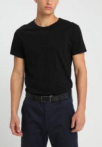 Calvin Klein - CASUAL GIFT SET - Belt business - black - 1