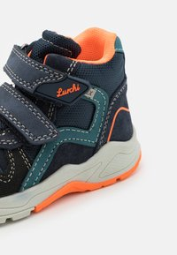 Lurchi - CHRISTIAN TEX - Classic ankle boots - dark navy/orange - 5