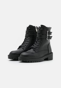 RAID - ROGER - Lace-up ankle boots - black - 2