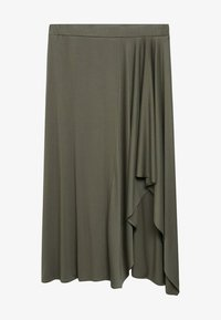 Violeta by Mango - ELSA - A-line skirt - khaki - 4
