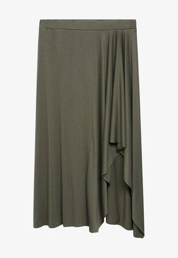ELSA - A-line skirt - khaki