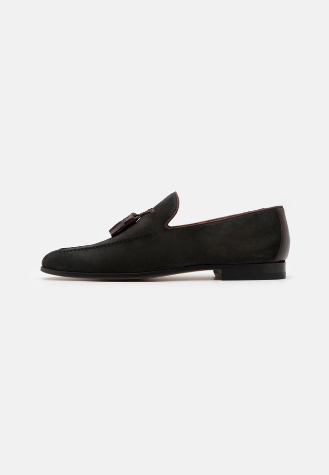 Smart slip-ons - mimetico/caobacaoba