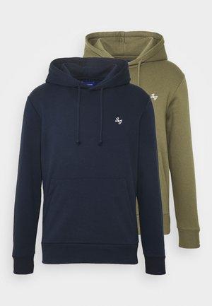 JORSIMONE 2-PACK - Sweatshirt - navy blazer