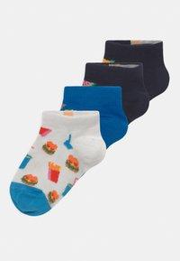 Happy Socks - BANANA JUNK FOOD 4 PACK UNISEX - Socks - multi-coloured - 0