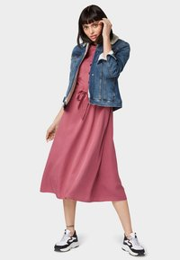TOM TAILOR DENIM - Shirt dress - dry rose - 1