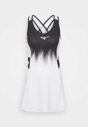 DRESS - Sports dress - white/black